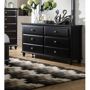 Darby Home Co Ensley 6 Drawer Double Dres..
