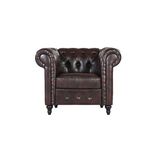 Amburgey Chesterfield Chair by Darby Home Co