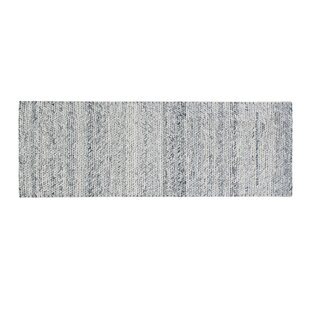 Colton Hand-Woven Wool Dark Night Area Rug ByFoundry Select