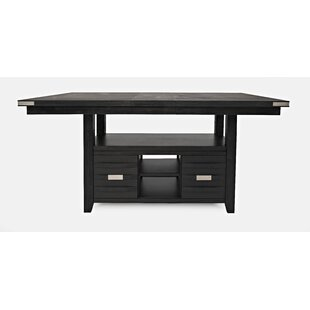 Berea Counter Height Solid Wood Dining Table by Ivy Bronx