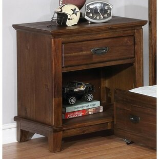 Reviews Scully 1 Drawer Nightstand by Harriet Bee Reviews (2019) & Buyer's Guide