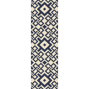 Aura Cobalt/Beige Indoor/Outdoor Area Rug