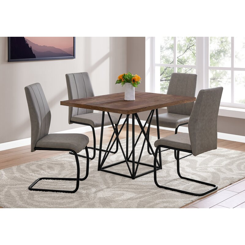 Monarch Specialties Inc 5 Piece Dining Table Set Reviews Wayfair