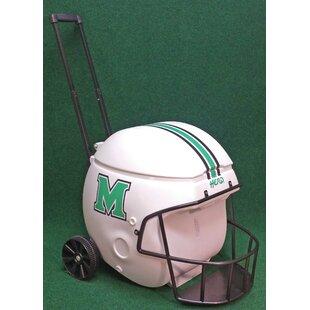 Coolr Coolrz 40 Qt. Marshall Thundering Herd Football Helmet Rolling Cooler