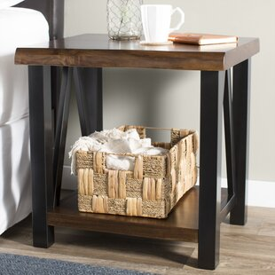Baltic End Table by Gracie Oaks
