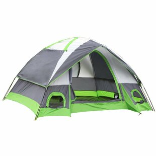 Semoo Semoo Water Resistant 4 Person Tent with Carry Bag