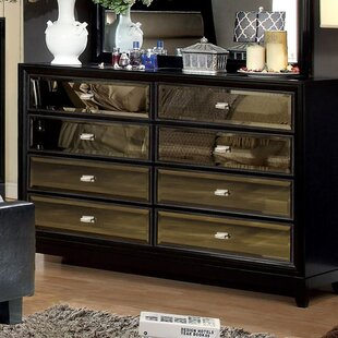 Willa Arlo Interiors Guerrero 6 Drawer Doubl..