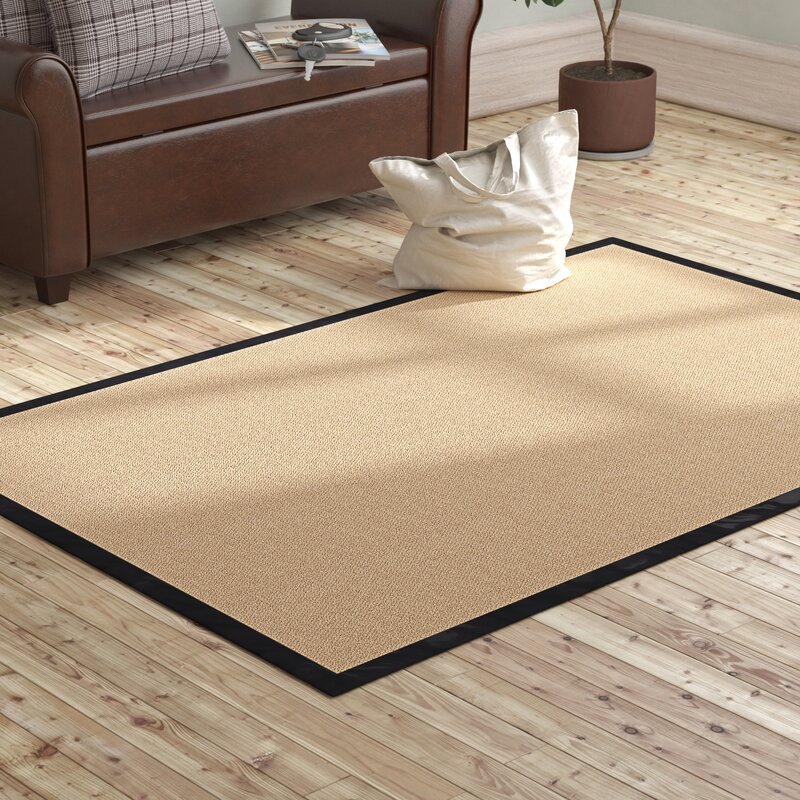 Darby Home Co Nannette Tufted Wool Beige Area Rug Reviews Wayfair