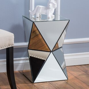 Willa Arlo Interiors Conrad Mirrored Accent End Table