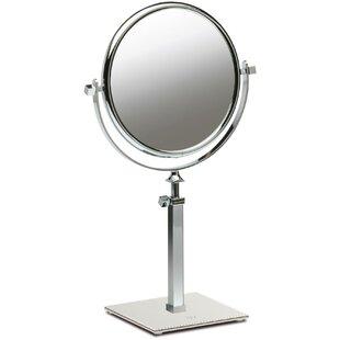 Everton Box Dual Sided Extendable Makeup/Shaving Mirror ByRed Barrel Studio