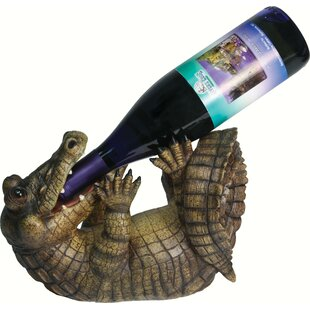Alissa Alligator 1 Tabletop Wine Bottle R..