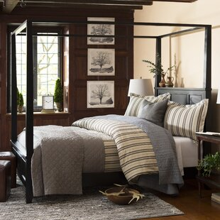Where buy  Cusick Canopy Bed by Three Posts Reviews (2019) & Buyer's Guide