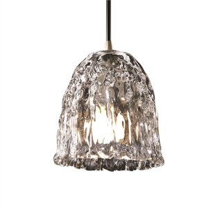 Devita 1-Light Bell Pendant by Darby Home Co