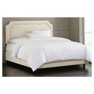 Amanda Upholstered Panel Bed by Skyline Furniture