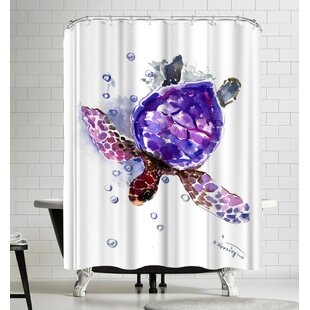 Suren Nersisyan Turtle II Shower Curtain by East Urban Home