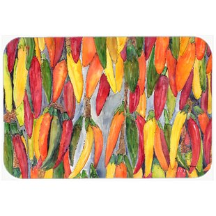 Hot Peppers Kitchen/Bath Mat