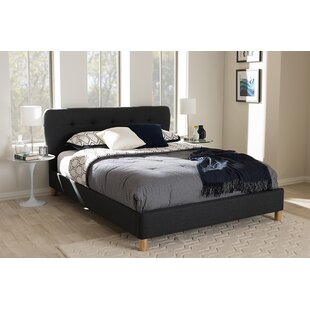 Bonds Upholstered Platform Bed by Trule Teen