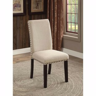 Amet Transitional Upholstered Dining Chair (Set of 2) DarHome Co