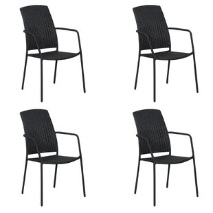 Maxson Stacking Garden Chair (Set Of 4) By Sol 72 Outdoor