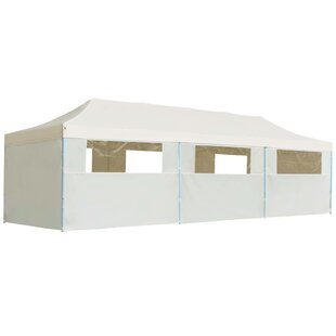Rivka 3m X 9m Steel Pop-Up Party Tent By Sol 72 Outdoor