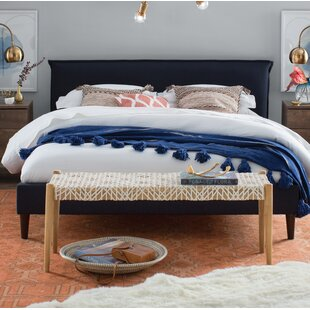Highview Seamed Patriot Upholstered Platform Bed by Red Barrel Studio