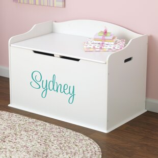Great choice Personalized Toy Storage Bench By KidKraft