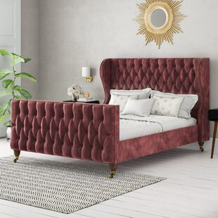 Bolsover Upholstered Bed Frame By Fairmont Park