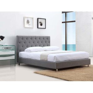 Otto Fabric Queen Upholstered Platform Bed by Casabianca Furniture