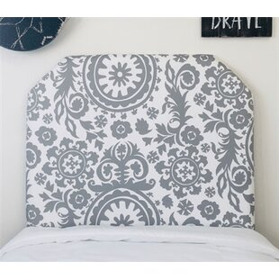Hovey Beveled Twin/Twin XL Upholstered Panel Headboard by