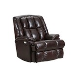 Salerno Faux Leather Manual Rocker Recliner by Canora Grey