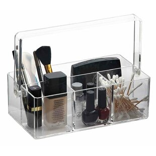 Price Check Makeup and Jewelry Organizer with Handle By Rebrilliant