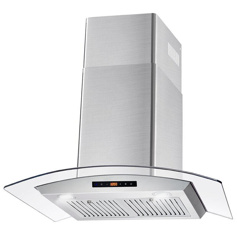Cosmo 30 380 Cfm Ductless Wall Mount Range Hood Reviews