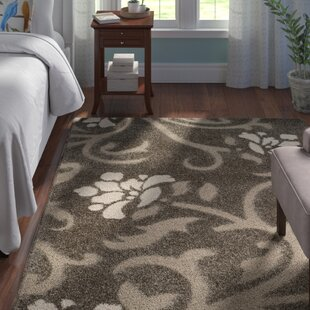 Duffey Smoke/Beige Area Rug by Andover Mills