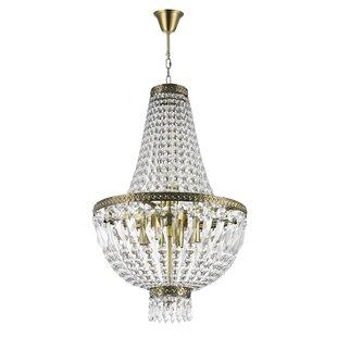 Weisser 6-Light Empire Chandelier by Astoria Grand