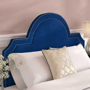 Buy clear Heverlee Upholstered Panel Headbaord By Mercer41