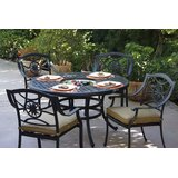 Thompsontown 5 Piece Dining Set with Cushions