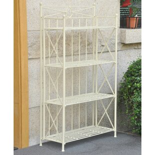 Barrow Iron Baker's Rack by August G..