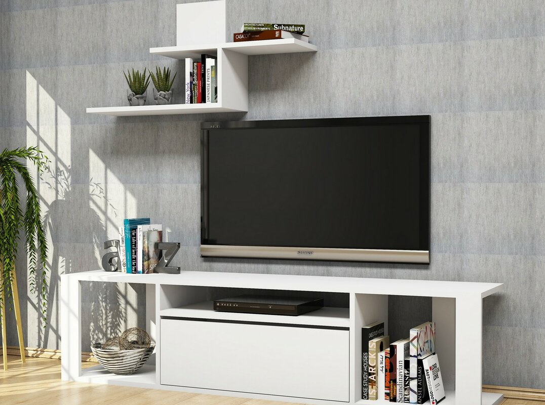 hazelwood home tv st nder f r fernsehger te bis 60 bewertungen. Black Bedroom Furniture Sets. Home Design Ideas