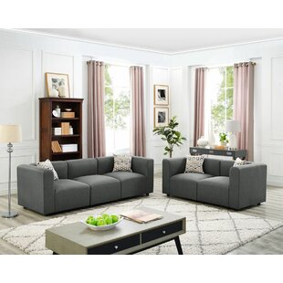Inexpensive Jennings Modular 2 Piece Living Room Set by Wrought Studio Reviews (2019) & Buyer's Guide