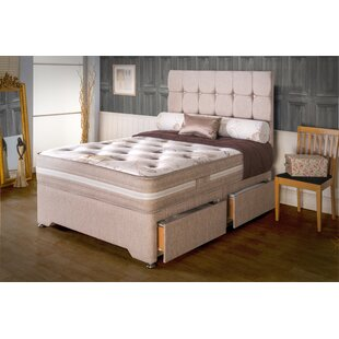 Tyreese Pocketsprung Divan Bed By 17 Stories