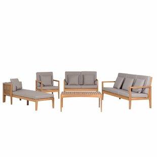 Gladstone 7 Seater Sofa Set By Brambly Cottage