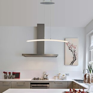 Castella 1-Light LED Kitchen Island Pendant by Wade Logan