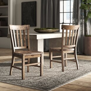 Greyleigh Solid Wood Dining Chair (Set of 2)