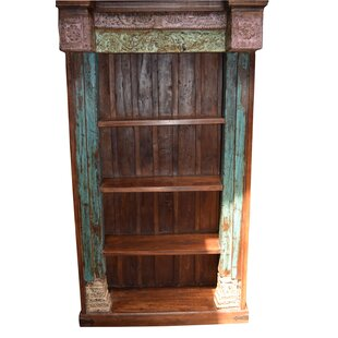 Top Reviews Kyree Carved Standard Bookcase by World Menagerie