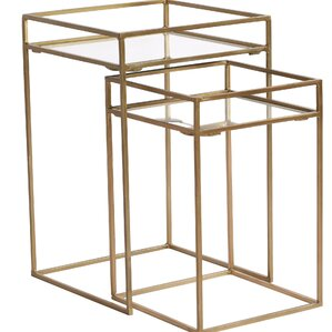 Quintanilla 2 Piece Nesting Tables (Set of 2) by Brayden Studio