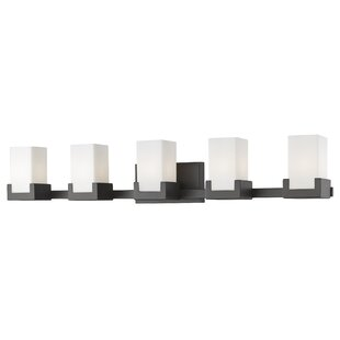 Coupon Suffield 5-Light LED Vanity Light By Latitude Run