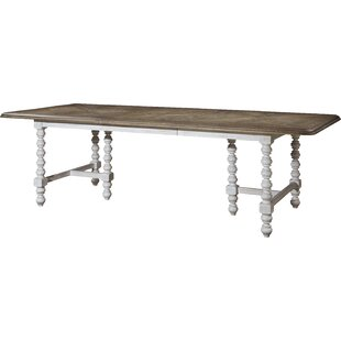 Dogwood Solid Wood Extendable Dining Table