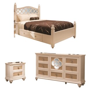 Paris Panel Configurable Bedroom Set by Najarian Furniture