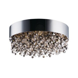 Everly Quinn Ambridge 11-Light LED Flush Mount