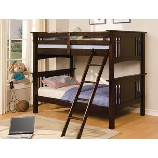 Clover Twin Bunk Bed by Harriet Bee Best Choices